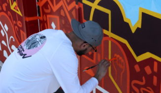 Chris Gazaleh – Mural Unveiling June 16th in San Francisco
